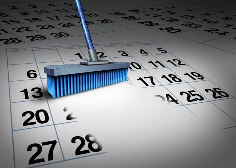 Create the Perfect House Cleaning Schedule | Houston Maid Services